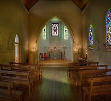 The Chapel - Daylesford by Hans Kawitzki
