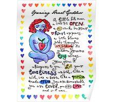 Opening Heart Goddess Poster