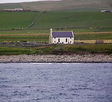 A wee church across the bay by tunna