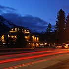 Light Trails of Banff by Ryan Davison Crisp