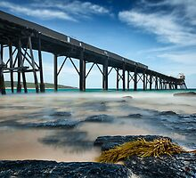 Catherine Hill Bay - 3 by Michael Howard