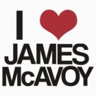 I Heart James McAvoy by damnbryony