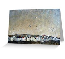 A Lone Gull, Staithes Greeting Card