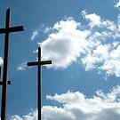 Three Crosses Against the Sky by Jane Neill-Hancock