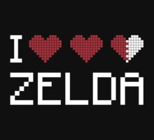 I LOVE ZELDA by bomdesignz