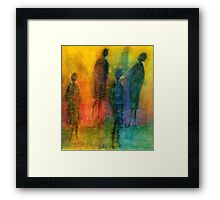 The Angels Among Us Framed Print