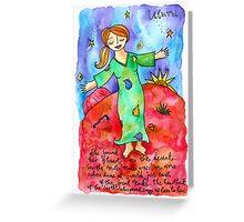 Uluru :: Ayers Rock Goddess Greeting Card