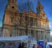 Occupy St Paul's: I by strangelight