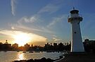 Lighthouse -Wollongong Harbour- by Evita