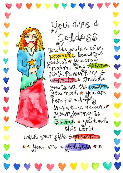 You Are A Goddess by GoddessLeonie