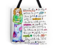 How To Be A Goddess Tote Bag