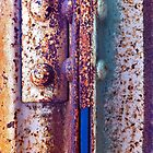 Rust + Blue by Kip Stewart