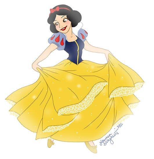 Snow White by Lauren Draghetti