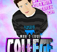 Asher Roth - I Love College  by michybaps