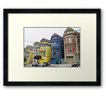 San Francisco Villas Framed Print