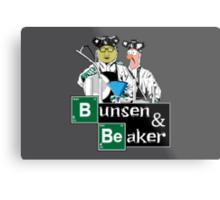 Bunsen & Beaker Metal Print