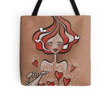 Lady Valentine Tote Bag