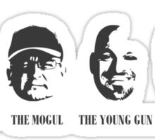 Faces of War Sticker
