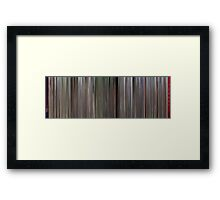 Moviebarcode: The Inglorious Bastards (1978) Framed Print