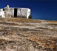 """The Abandoned cottage"" - west coast - South Africa by Sandy Beaton"