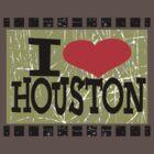 I love Houston by Nhan Ngo