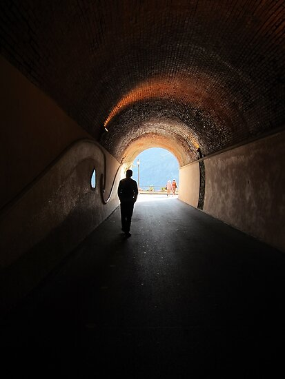 Old Monterosso tunnel by Zeefive Photos