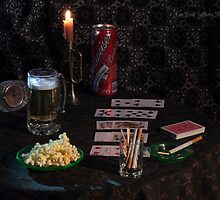 Solitaire , Beer and Popcorn by FrankSchmidt