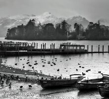 Derwent Water + Cat Bells by mountainsandsky