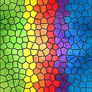 Rainbow Stained Glass by Alisdair Binning