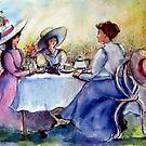 Tea Party by Robin Spring Bloom