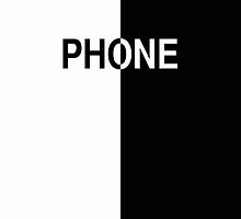 Phone (white & black) by ubiquitoid