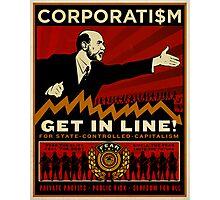 Corporatism Photographic Print