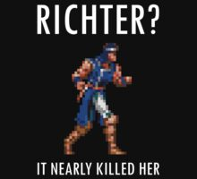 Richter? It nearly killed her by anxietydown