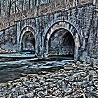 """ Railroad Bridge - Camillus, New York "" by DeucePhotog"