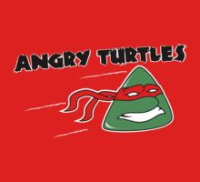 Angry Turtles! by disasterink