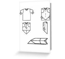 plane-t-shirt Greeting Card