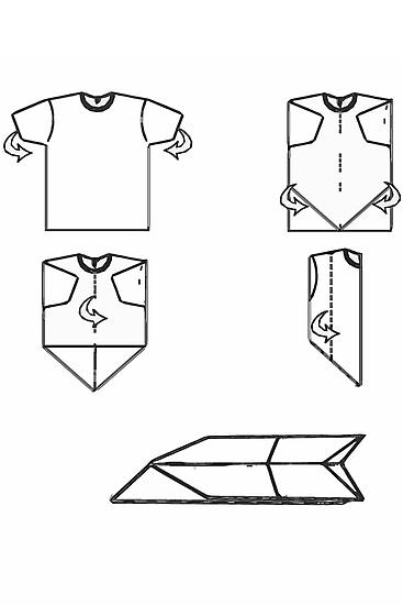plane-t-shirt by IanByfordArt