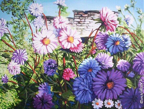Wildflowers in summer by Dan Wilcox