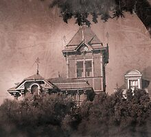 Victorian House Aged Picture by Confundo