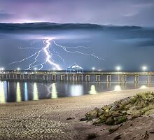 Brighton Jetty Fury by Shannon Rogers