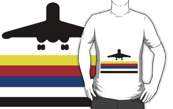 Retro Lego Logo Airport Runway Take-off by Dan & Emma Monceaux