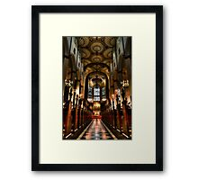 St Johns Walkway Framed Print