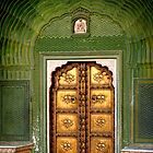 Royal Brass door in Jaipur by Ravi Kumar