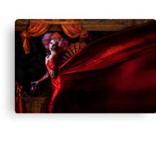 Madame Carnival Canvas Print