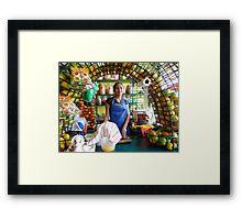 Sweet Little Sixteen...  - Linda Jovencita De Dieciseis Años... Framed Print