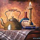 Kettle & Candle by Dan Wilcox