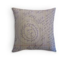 0160 LESS FRICTION ELECTRIC GENERATOR LFEG 01102012 Throw Pillow