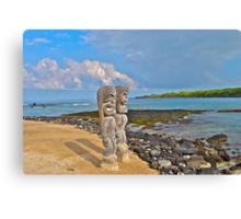 Ancient Beach Canvas Print