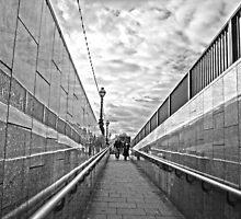 A Walkway in London by honestyS2