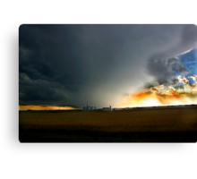Storm on the Great Planes Canvas Print